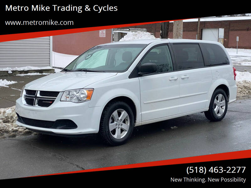 2015 Dodge Grand Caravan for sale at Metro Mike Trading & Cycles in Albany NY
