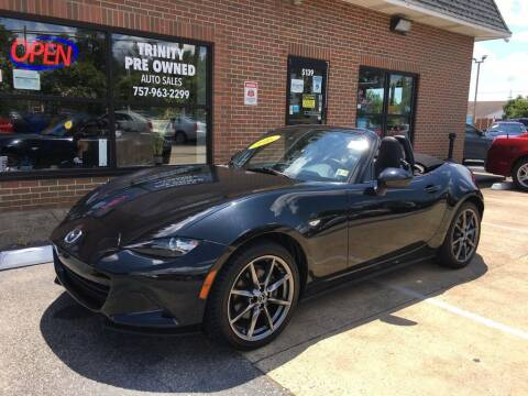 2016 Mazda MX-5 Miata for sale at Bankruptcy Car Financing in Norfolk VA
