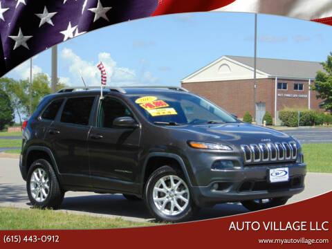 2015 Jeep Cherokee for sale at AUTO VILLAGE LLC in Lebanon TN