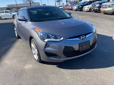 2015 Hyundai Veloster for sale at RABIDEAU'S AUTO MART in Green Bay WI
