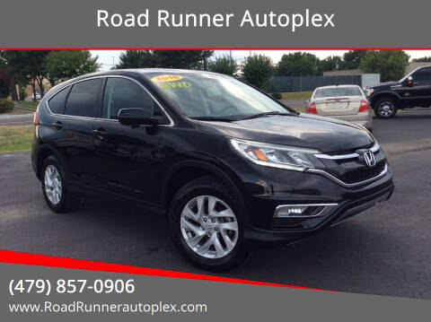 2016 Honda CR-V for sale at Road Runner Autoplex in Russellville AR