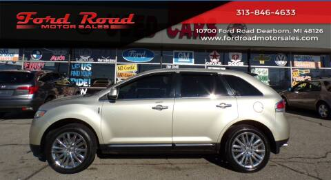 2011 Lincoln MKX for sale at Ford Road Motor Sales in Dearborn MI