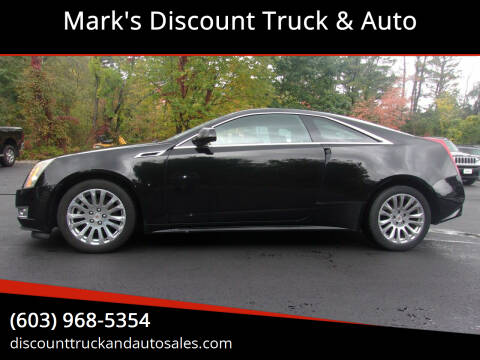 2013 Cadillac CTS for sale at Mark's Discount Truck & Auto in Londonderry NH