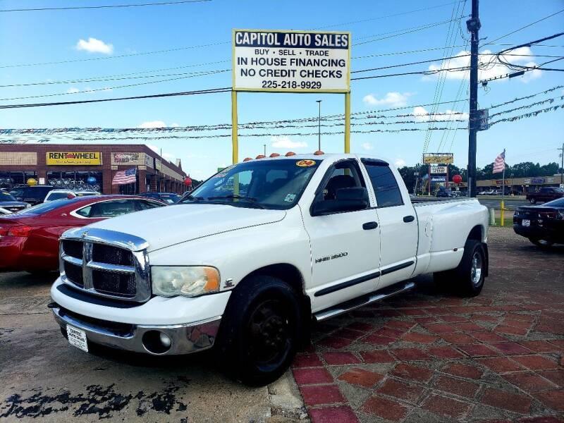 2004 Dodge Ram Pickup 3500 for sale at CAPITOL AUTO SALES LLC in Baton Rouge LA