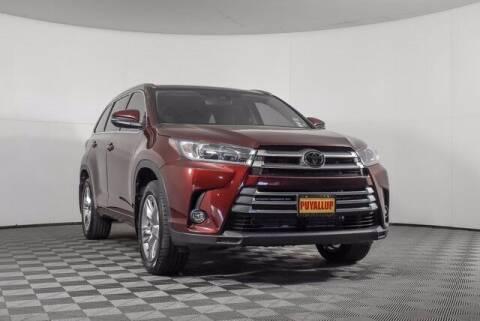 2019 Toyota Highlander for sale at Washington Auto Credit in Puyallup WA