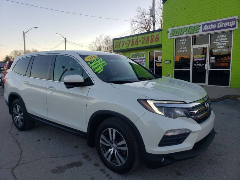 2016 Honda Pilot for sale at Empire Auto Group in Indianapolis IN