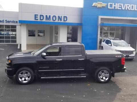 2017 Chevrolet Silverado 1500 for sale at EDMOND CHEVROLET BUICK GMC in Bradford PA