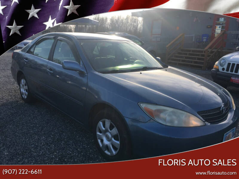 2004 Toyota Camry for sale at FLORIS AUTO SALES in Anchorage AK