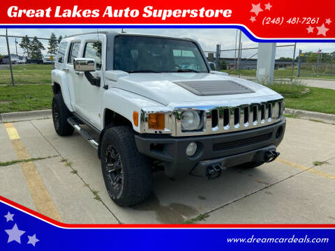 2006 HUMMER H3 for sale at Great Lakes Auto Superstore in Pontiac MI