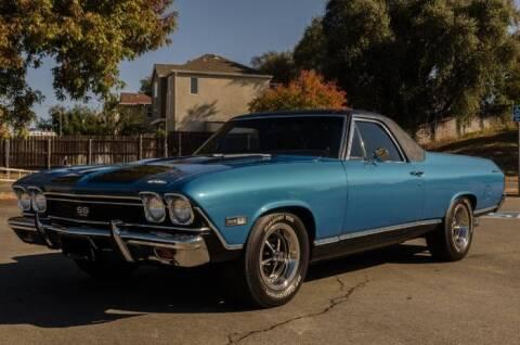 1968 Chevrolet El Camino for sale at Classic Car Deals in Cadillac MI