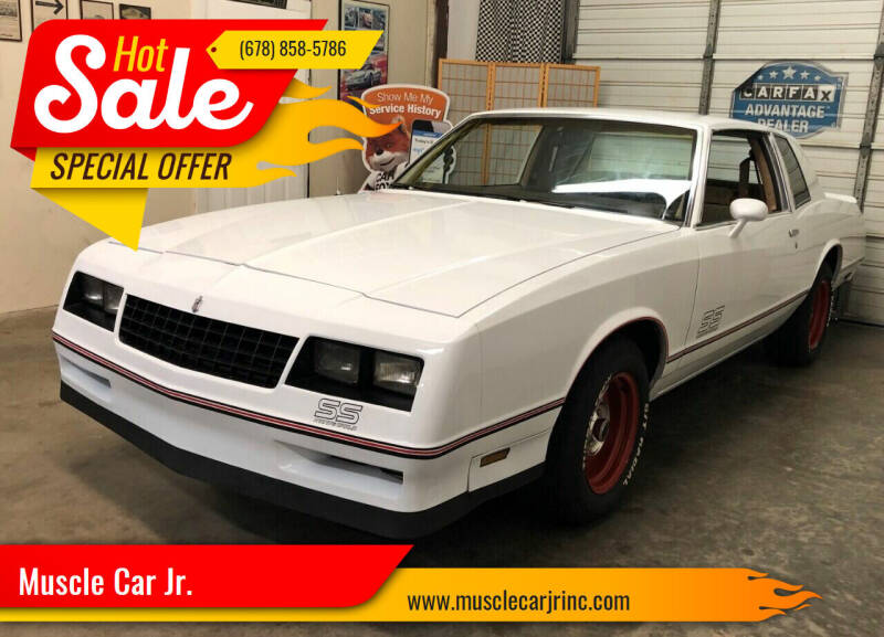 1985 Chevrolet Monte Carlo for sale at Muscle Car Jr. in Alpharetta GA