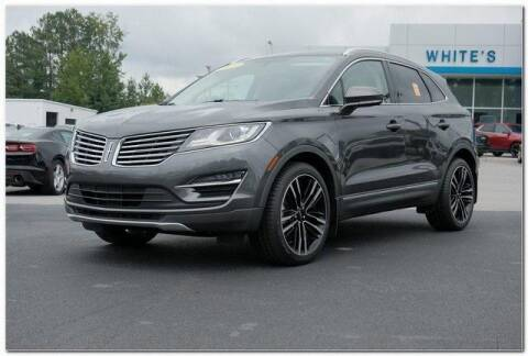 2017 Lincoln MKC for sale at WHITE MOTORS INC in Roanoke Rapids NC
