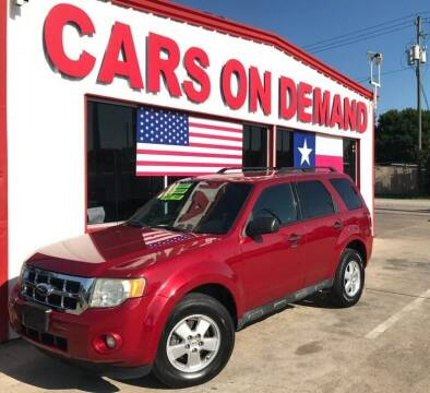 2011 Ford Escape for sale at Cars On Demand 3 in Pasadena TX