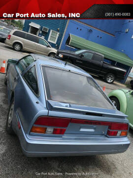 1986 Nissan 300ZX for sale at Car Port Auto Sales, INC in Laurel MD
