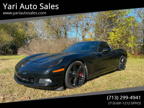 2009 Chevrolet Corvette for sale at Yari Auto Sales in Houston TX