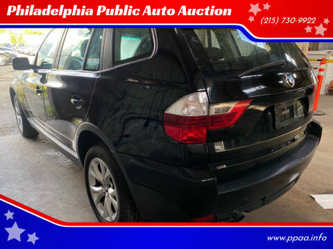 2009 BMW X3 for sale at Philadelphia Public Auto Auction in Philadelphia PA