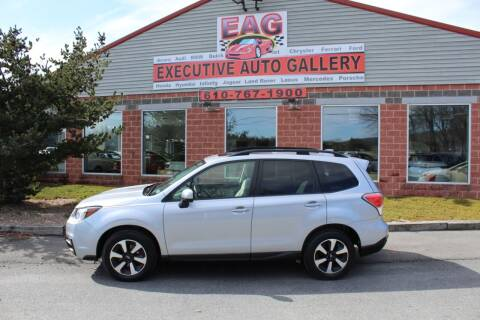2018 Subaru Forester for sale at EXECUTIVE AUTO GALLERY INC in Walnutport PA