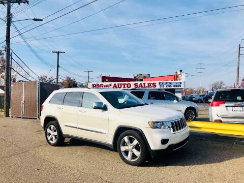 2012 Jeep Grand Cherokee for sale at Big Three Auto Sales Inc. in Detroit MI