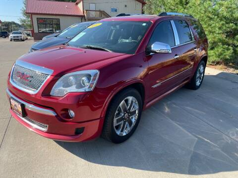 2012 GMC Acadia for sale at Azteca Auto Sales LLC in Des Moines IA