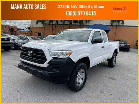 2016 Toyota Tacoma for sale at MANA AUTO SALES in Miami FL