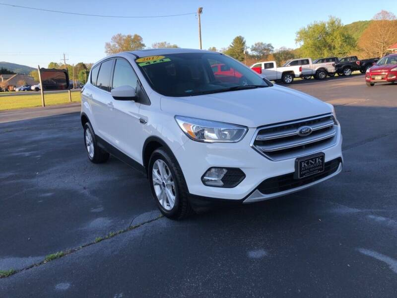 2017 Ford Escape for sale at KNK AUTOMOTIVE in Erwin TN