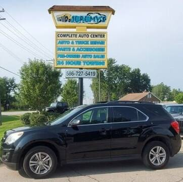 2010 Chevrolet Equinox for sale at JEREMYS AUTOMOTIVE in Casco MI