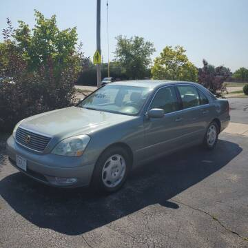 2001 Lexus LS 430 for sale at MAIN STREET AUTO SALES in Neenah WI