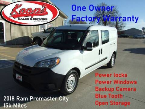 2018 RAM ProMaster City Wagon for sale at Koop's Sales and Service in Vinton IA