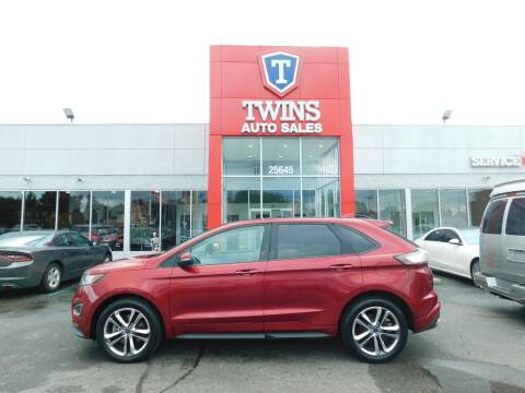 2015 Ford Edge for sale at Twins Auto Sales Inc Redford 1 in Redford MI