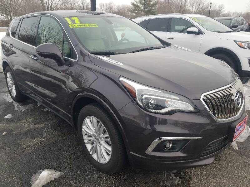 2017 Buick Envision for sale at Cooley Auto Sales in North Liberty IA
