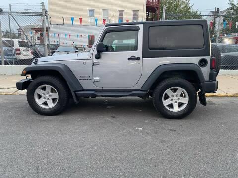 2015 Jeep Wrangler for sale at G1 Auto Sales in Paterson NJ