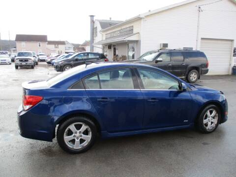 2012 Chevrolet Cruze for sale at ROUTE 119 AUTO SALES & SVC in Homer City PA