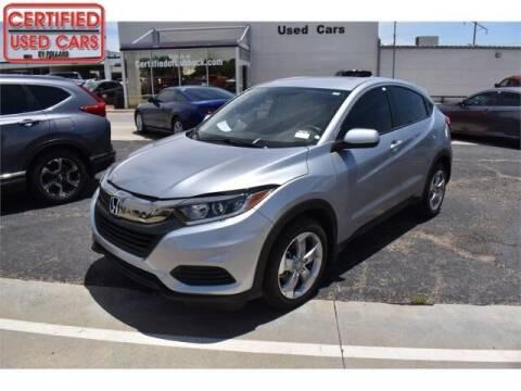 2019 Honda HR-V for sale at South Plains Autoplex by RANDY BUCHANAN in Lubbock TX