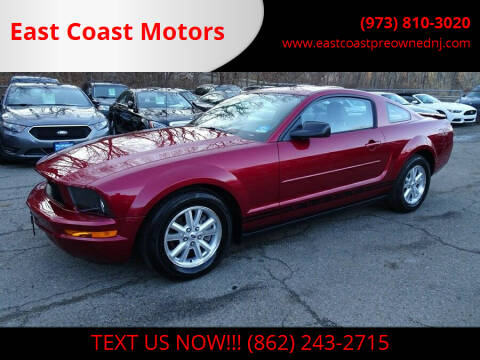 2007 Ford Mustang for sale at East Coast Motors in Lake Hopatcong NJ