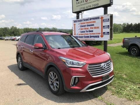 2017 Hyundai Santa Fe for sale at Sensible Sales & Leasing in Fredonia NY
