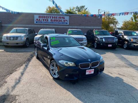 2012 BMW 5 Series for sale at Brothers Auto Group in Youngstown OH