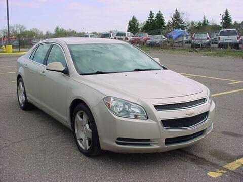 2010 Chevrolet Malibu for sale at VOA Auto Sales in Pontiac MI