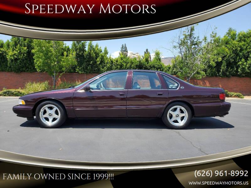 1995 Chevrolet Impala for sale at Speedway Motors in Glendora CA