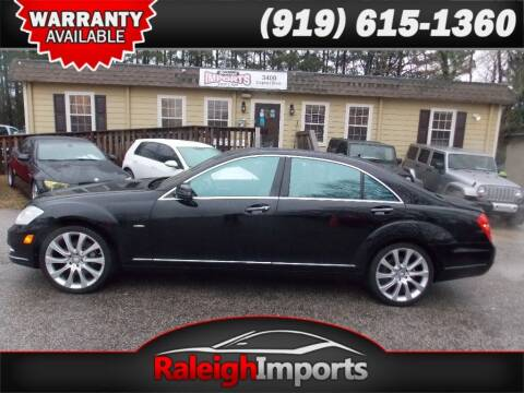 2012 Mercedes-Benz S-Class for sale at Raleigh Imports in Raleigh NC