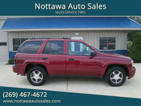 2007 Chevrolet TrailBlazer for sale at Nottawa Auto Sales in Nottawa MI