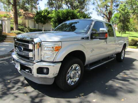 2012 Ford F-350 Super Duty for sale at E MOTORCARS in Fullerton CA