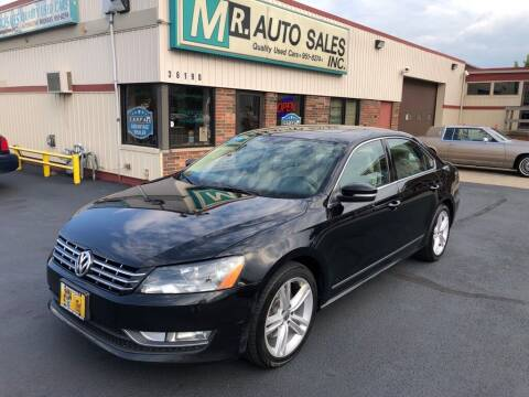 2013 Volkswagen Passat for sale at MR Auto Sales Inc. in Eastlake OH