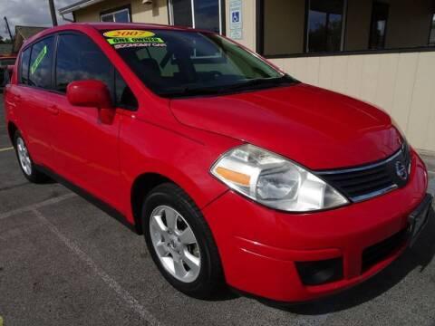 2007 Nissan Versa for sale at BBL Auto Sales in Yakima WA