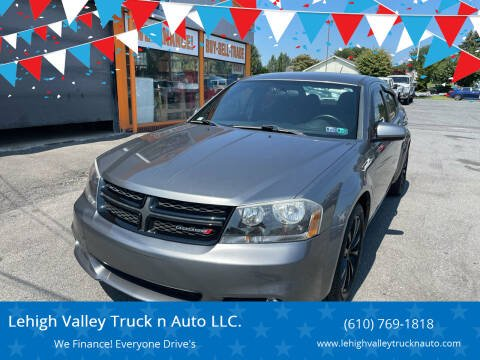 2013 Dodge Avenger for sale at Lehigh Valley Truck n Auto LLC. in Schnecksville PA