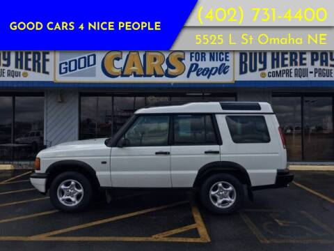 2000 Land Rover Discovery Series II for sale at Good Cars 4 Nice People in Omaha NE