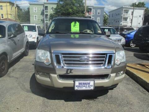 2006 Ford Explorer for sale at MERROW WHOLESALE AUTO in Manchester NH