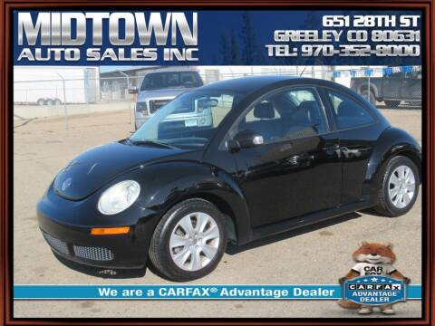 2008 Volkswagen New Beetle for sale at MIDTOWN AUTO SALES INC in Greeley CO