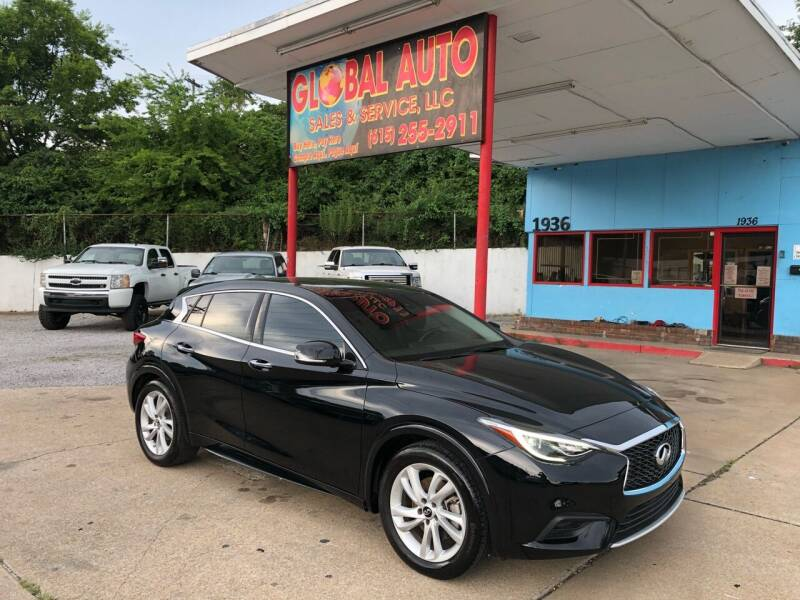 2018 Infiniti QX30 for sale at Global Auto Sales and Service in Nashville TN