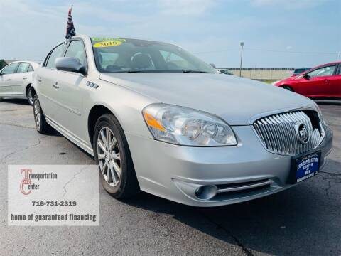 2010 Buick Lucerne for sale at Transportation Center Of Western New York in Niagara Falls NY