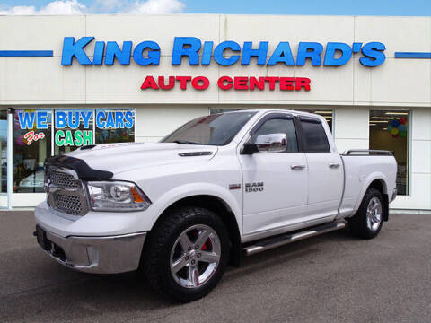 2013 RAM Ram Pickup 1500 for sale at KING RICHARDS AUTO CENTER in East Providence RI